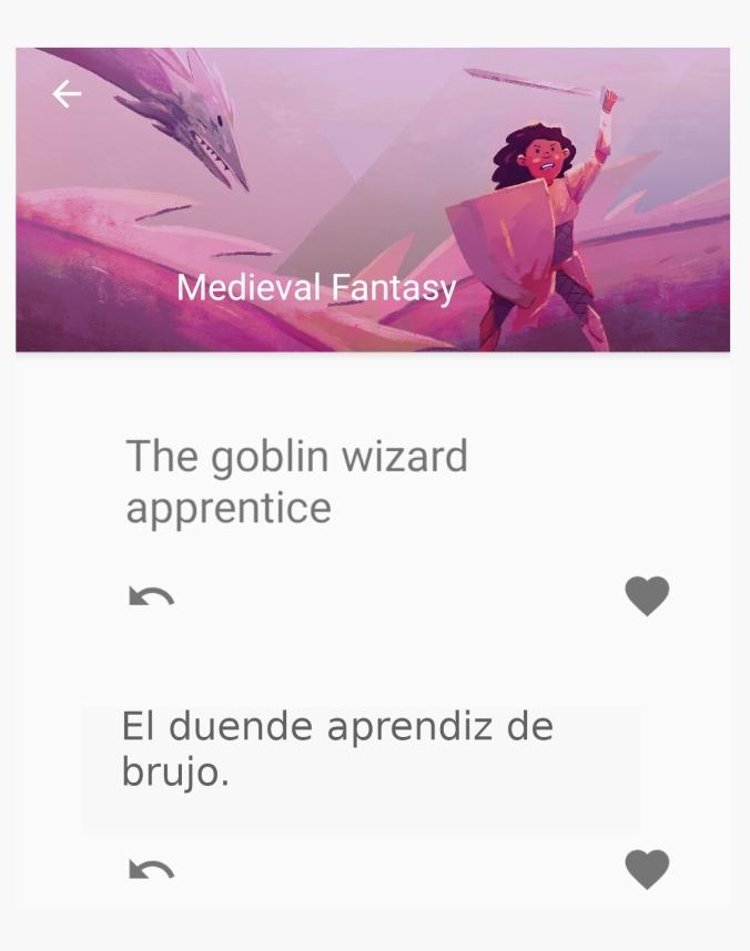 """Tema propuesto por la aplicación What to Draw: """"El duende aprendiz de brujo""""."""